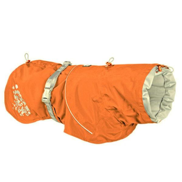 Hurtta Giacca Impermeabile Monsoon Coat Arancio Bruciato 25cm